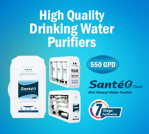 Drinking Water Purifiers, Filters